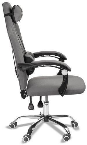 Super fotel gamingowy gracza. Model SL5. Szary na Arena.pl