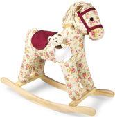 Koń na biegunach Florence w kwiatki zdjęcie 1