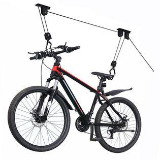Wieszak na rower uchwyt rowerowy sufitowy winda