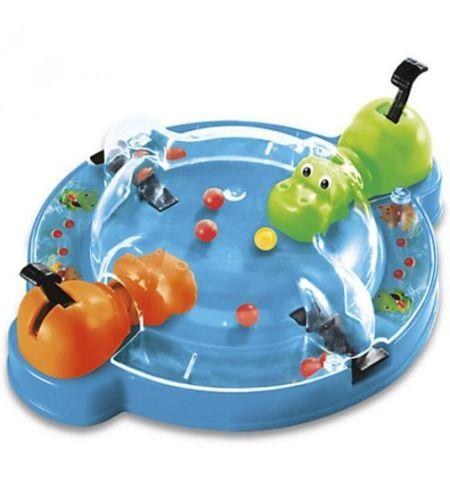 Gra Hungry Hippos Grab & Go B1001 HASBRO zdjęcie 1
