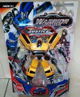 Robot transformer żółty samochód terenowy 6235