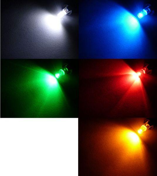żarówka LED T5 w oprawie B8.5D do zegar licznik 12v KOLORY na Arena.pl