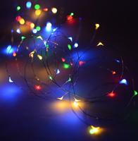 MIKRO LAMPKI LED NA DRUCIKU - 300 LED - MULTIKOLOR L9118