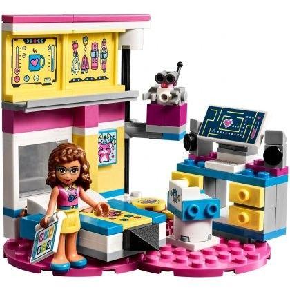 Zestaw Lego Friends Sypialnia Olivii 41329 6