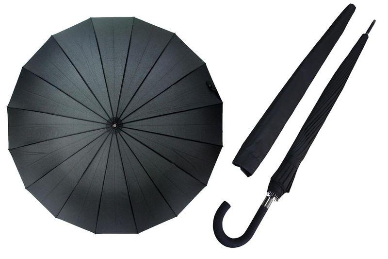 Automatyczny parasol Tiros męski XL - 16 brytów zdjęcie 1