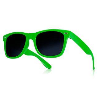 Okulary przeciwsłoneczne WAYFARER nerdy kujonki # ZIELONE