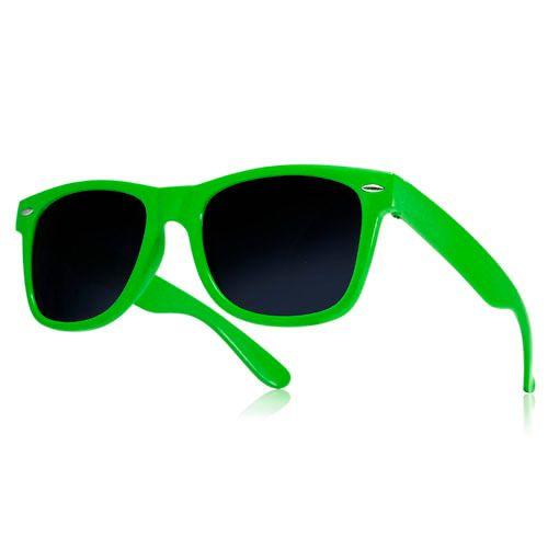 Okulary przeciwsłoneczne WAYFARER nerdy kujonki # ZIELONE na Arena.pl