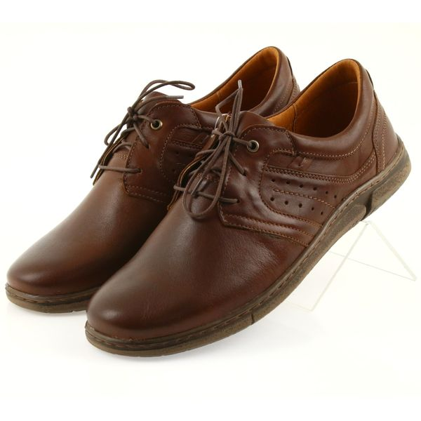 Riko półbuty buty męskie brązowe 870 r.41 zdjęcie 4