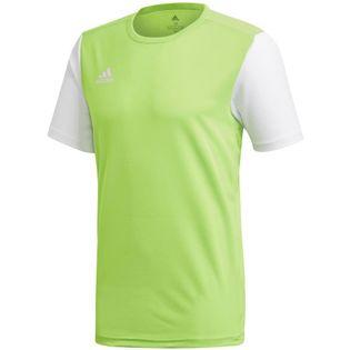 Koszulka dla dzieci adidas Estro 19 Jersey JUNIOR limonkowa DP3240/GH1663