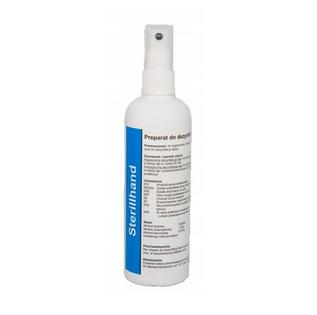 Płyn do dezynfekcji rąk i skóry 250 ml Sterillhand atomizer