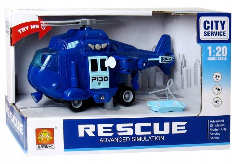 HELIKOPTER Policyjny POLICJA Wyciągarka DŹWIĘK zdjęcie 4
