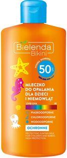 BIELENDA Bikini 150ml -  mleczko do opalania dla dzieci i niemowląt SPF 50