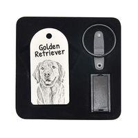 Golden Retriever- pendrive 8GB z wizerunkiem psa.