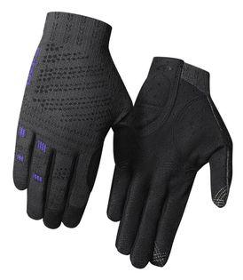 Rękawiczki damskie GIRO XNETIC TRAIL W długi palec titanium electric purple roz. L (obwód dłoni 190-204 mm / dł. dłoni 185-195 mm)