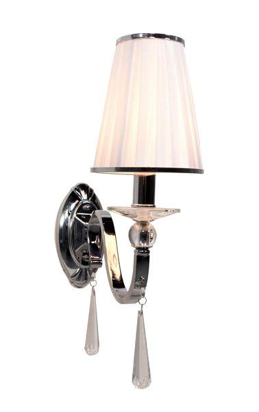 LAMPA ŚCIENNA KINKIET KRYSZTAŁOWY FEDERRICA W1 zdjęcie 1