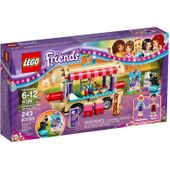 LEGO Friends Furgonetka z hot-dogami w parku rozrywki 41129 6+