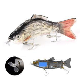 Elektryczny żywiec - rybka - przynęta wędkarska - model Pl-01