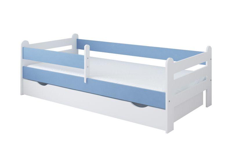 Łóżko RYSIO 160 x 80 szuflada + barierka ochronna + MATERAC GRATIS na Arena.pl