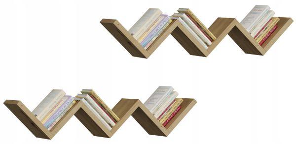 Półka wisząca ORTO artisan regał ścienny książki