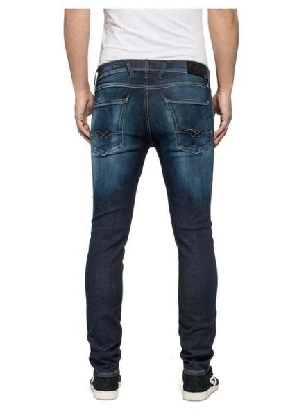 Replay Jeans Anbass Hyperflex Slim Fit  M91400066102D - W33/L32 na Arena.pl