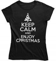 Koszulka damska na święta prezent pod choinkę keep