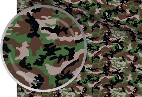 Prześcieradło Bawełniane 80x160 z Gumką Moro Army