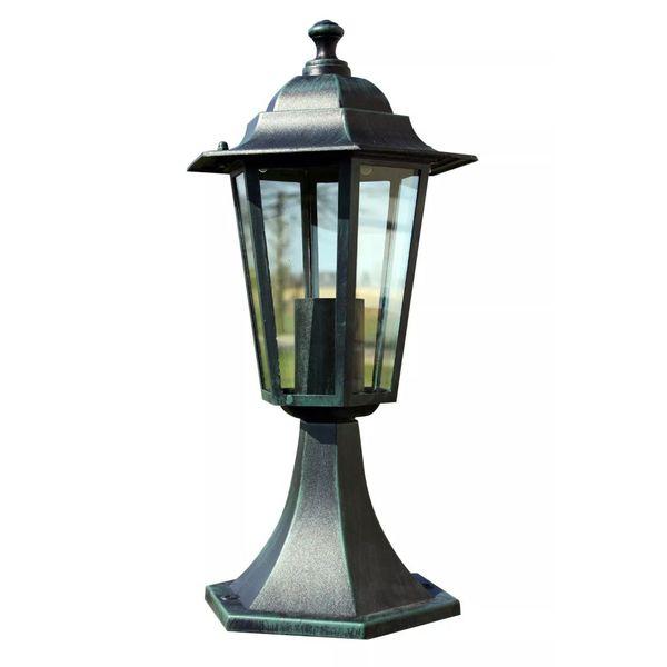 Lampa ogrodowa ciemnozielona (41 cm) zdjęcie 2