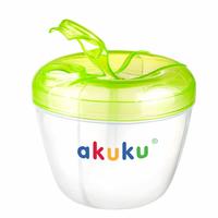 Akuku Pojemnik na mleko w proszku Zielony - 1 sztuka