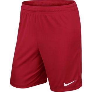 Spodenki dla dzieci Nike Park II Knit Short NB JUNIOR czerwone 725988 657 XL