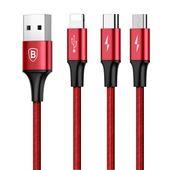 BASEUS KABEL UNIWERSALNY DO APPLE MICRO-USB-C TYP zdjęcie 5