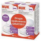 NUK Wkładki laktacyjne Ultra Dry 2x30szt