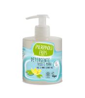 Nawilżający płyn do mycia twarzy i rąk z organicznym ektraktem z ryżu, 350 ml, Pierpaoli Ekos Personal Care