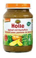 Holle Danie szpinak ziemniak Bio obiadek po 4 miesiącu 190 g
