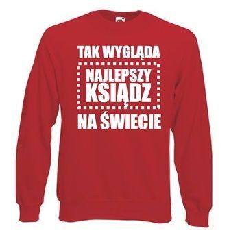 a736c80467d3 Bluza męska NAJLEPSZY KSIĄDZ NA ŚWIECIE L • Arena.pl