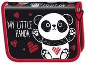 Piórnik jednokomorowy dwuklapkowy Bambino PANDA
