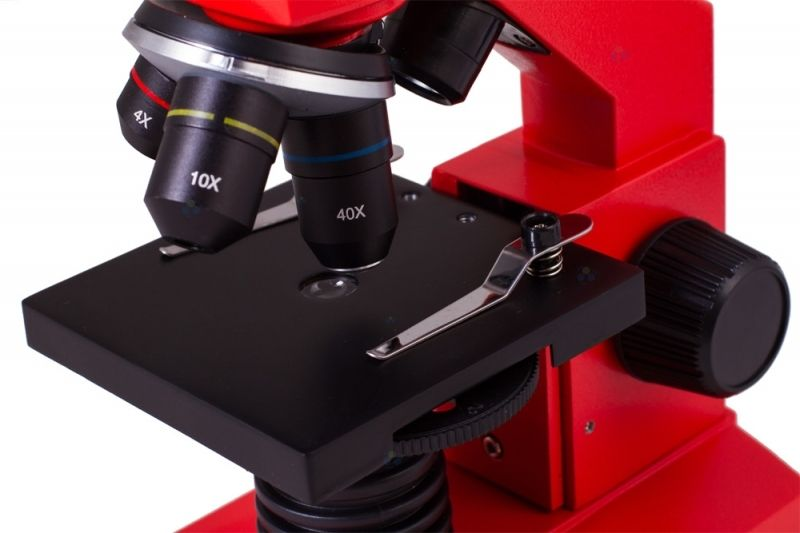 Mikroskop levenhuk rainbow l plus orangepomarańczowy u arena pl