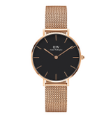 POW DANIEL WELLINGTON CLASSIC PETITE MELROSE BLACK DW00100161 32mm