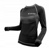 Damska koszulka bluza termoaktywna Hi-Tec Lady Calipso czarno-szara rozmiar XL