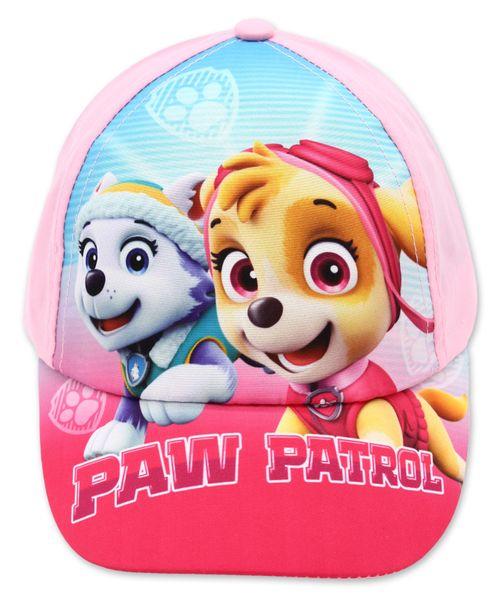 Czapka z daszkiem Psi Patrol Paw 54 różowa jasna zdjęcie 2
