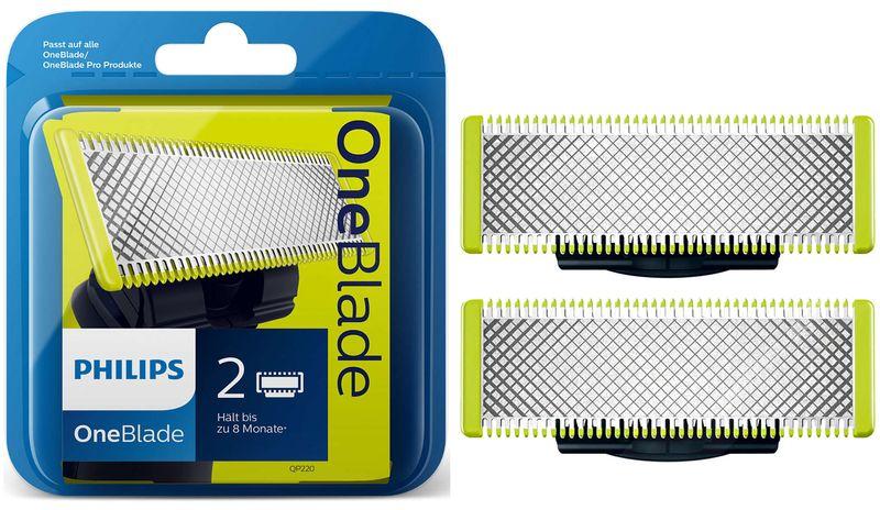 2x Ostrza Philips OneBlade QP220 QP6510 QP6520 zdjęcie 1