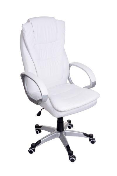 Fotel biurowy GIOSEDIO biały,model BSU002 zdjęcie 5