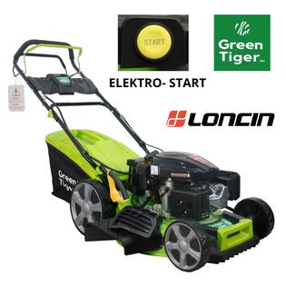 Kosiarka spalinowa Green Tiger 51cm ELEKTRO-START silnik LONCIN 196cm3