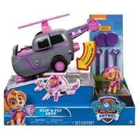 SPIN MASTER Psi Patrol Flip and Fly Pojazd z figurka, Skye