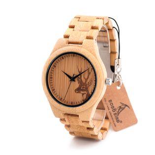 Zegarek drewniany BOBO BIRD na bransolecie D28