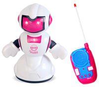Interaktywny Sterowany COOL Robot RC Jeździ Obrót Świeci Dźwięki Y451