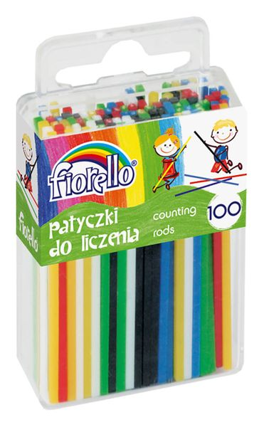PATYCZKI DO NAUKI LICZENIA FIORELLO 100 SZT na Arena.pl