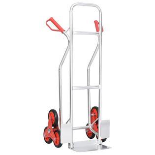 Wózek transportowy schodowy z 6 kółkami 51x53.5x118cm 150 kg VidaXL