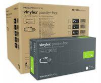 Rękawice winylowe vinylex powder-free S karton 10 x 100 szt