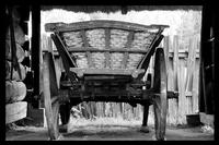 Architektura wiejska w Polsce  Drewniane ramy- Rozmiar - 40x30, Kolor ramy - Biała
