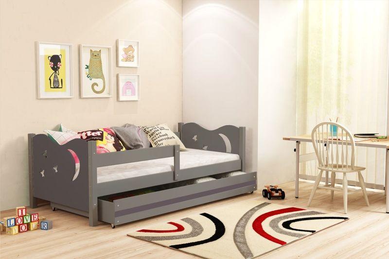 Łóżko łóżka Mikołaj dziecięce 160x80 parterowe + SZUFLADA zdjęcie 10